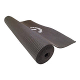 Yogamatte - 4 mm - Sort