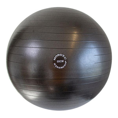 Treningsball 55 cm - Nordic Strength (Black Edition)