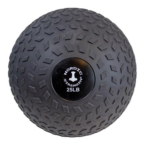 Slammerball 25 lbs - Nordic Strength Black