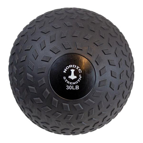 Slammerball 30 lbs - Nordic Strength Black