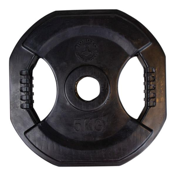 Pumpsett skivesett BLACK 5 kg - Nordic Strength