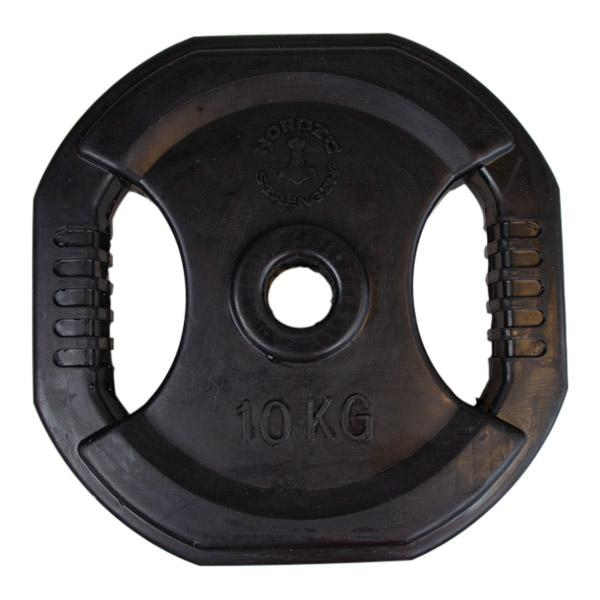 Pumpsett skivesett BLACK 10 kg - Nordic Strength