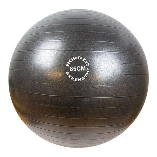Treningsball 85 cm - Nordic Strength (Black Edition)