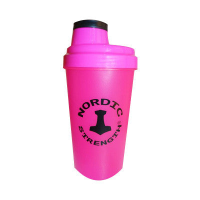 Protein shaker - Nordic Strength - PINK