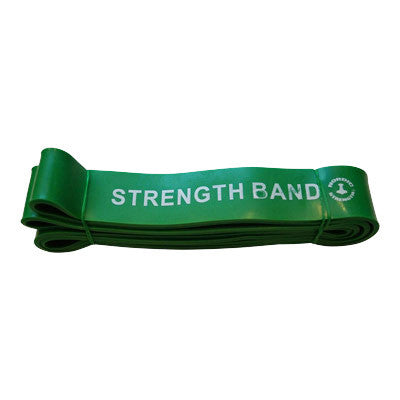 Strength band green