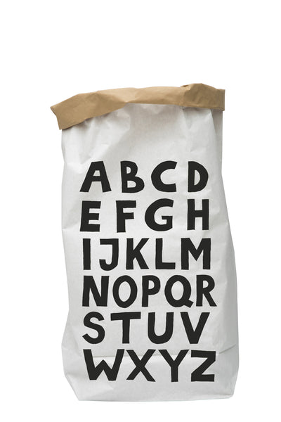 ABC - Paper Storage Bag