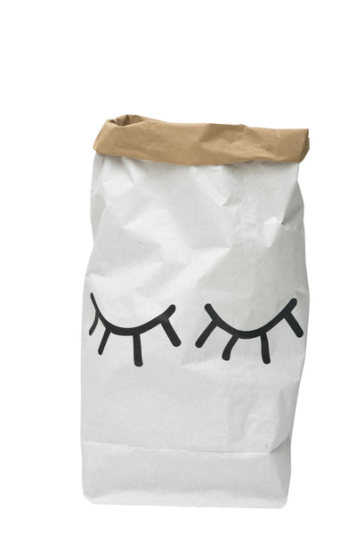 Closed Eyes - Paper Storage Bag