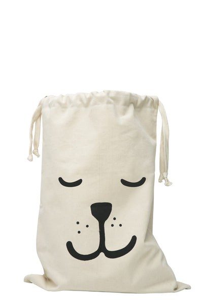 Sleeping Bear - Fabric Storage Bag