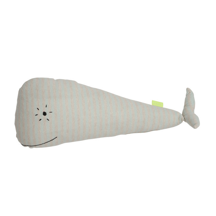 "Whale ""Moby"" Cushion"