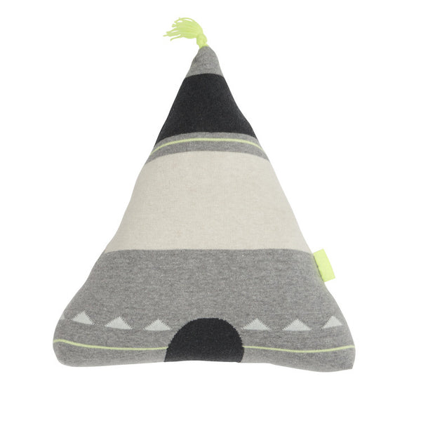 """Wigwam"" Cushion - Yellow"