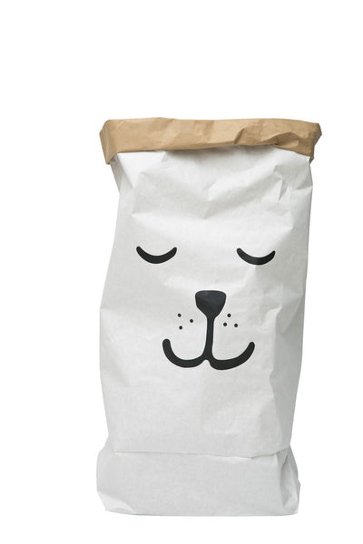 Sleeping Bear - Paper Storage Bag