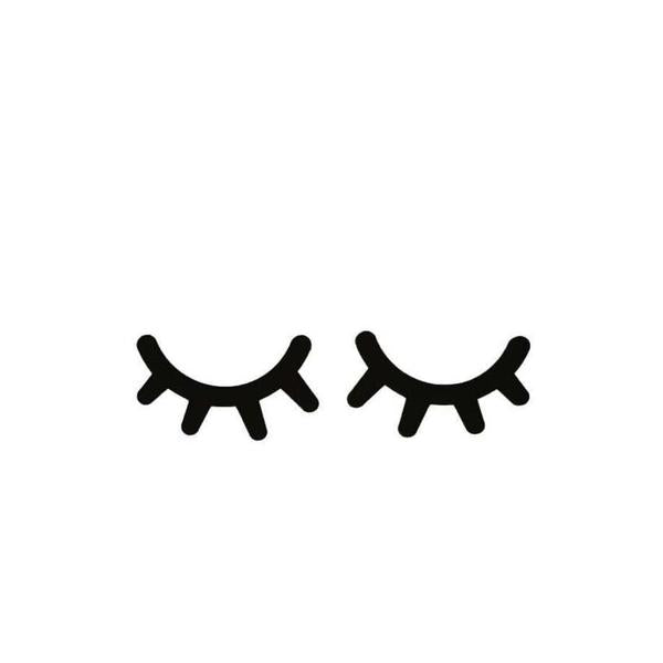 Eyelash Decal
