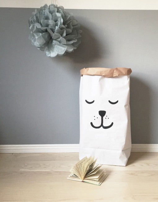 Sleeping Bear   Paper Storage Bag