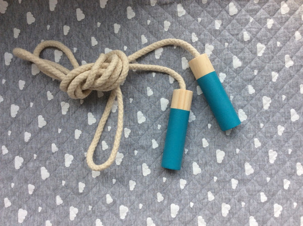 Peacock Blue Jump Rope