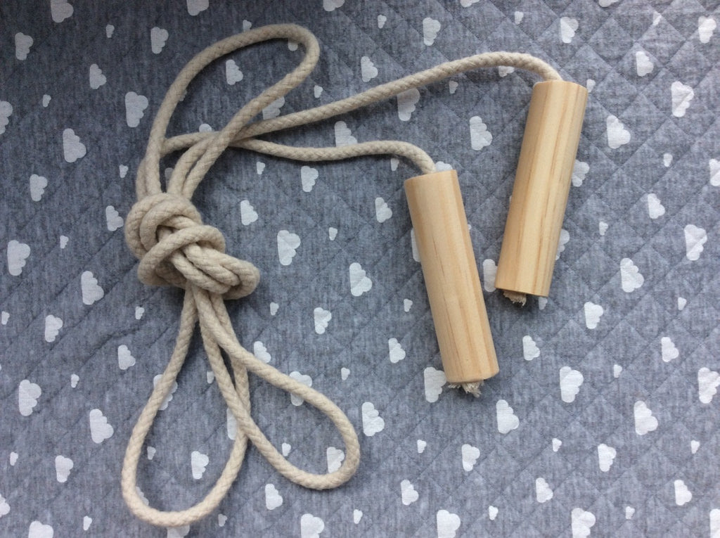 Scandinavian (Natural) Jump Rope