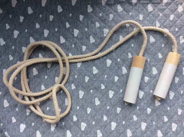 Cotton White Jump Rope