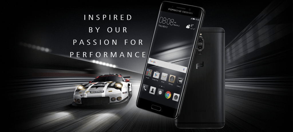 Porsche x Huawei for the Mate 9