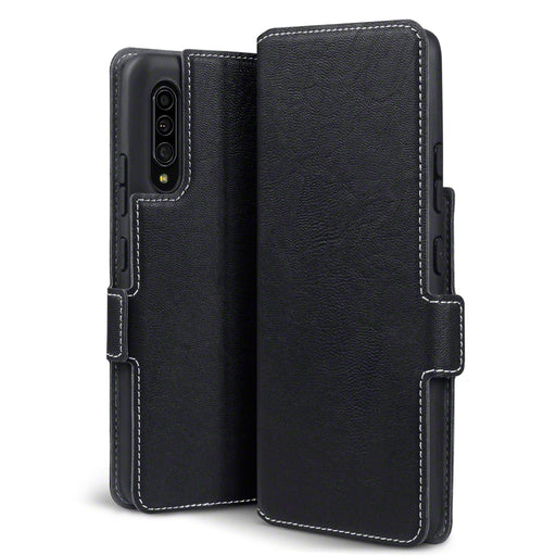 Terrapin Samsung Galaxy A90 5G Low Profile PU Leather Wallet Case - Black
