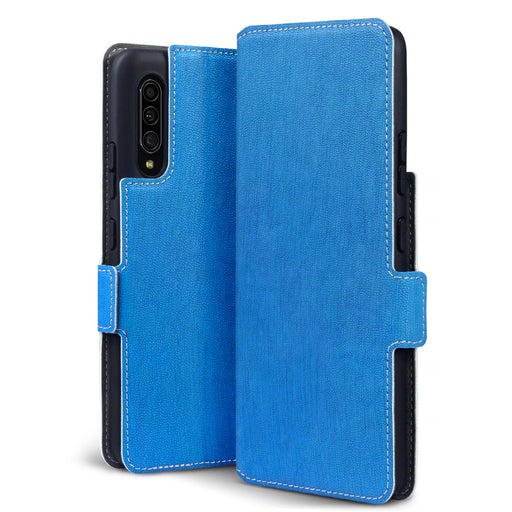 Terrapin Samsung Galaxy A90 5G Low Profile PU Leather Wallet Case - Blue