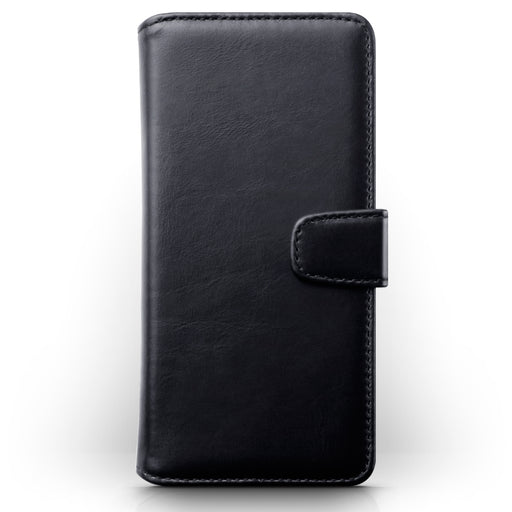 Terrapin Samsung Galaxy A51 Real Leather Wallet Case - Black