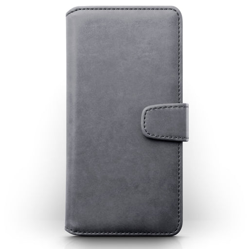 Terrapin Samsung Galaxy A51 Real Leather Wallet Case - Grey