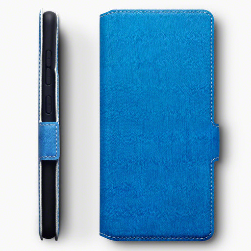 Terrapin Samsung Galaxy A51 Low Profile PU Leather Wallet Case - Light Blue
