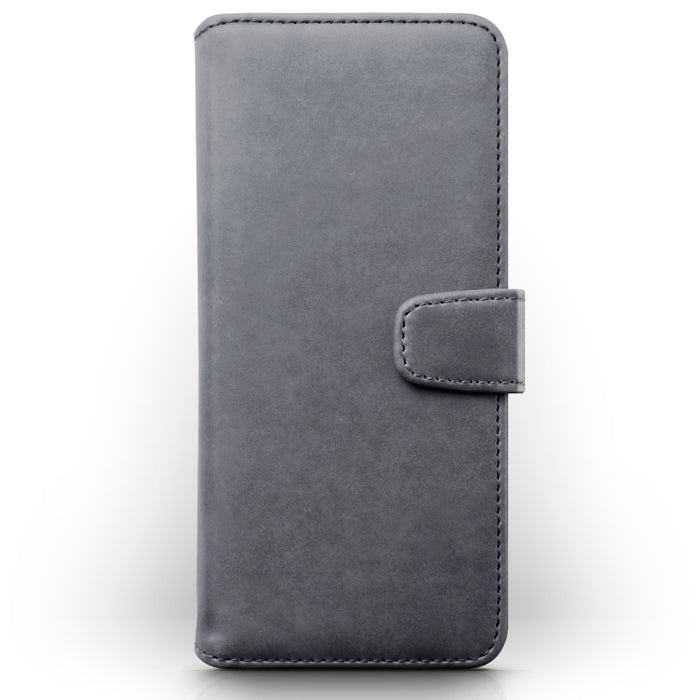 Terrapin Samsung Galaxy A71 Real Leather Wallet Case - Grey
