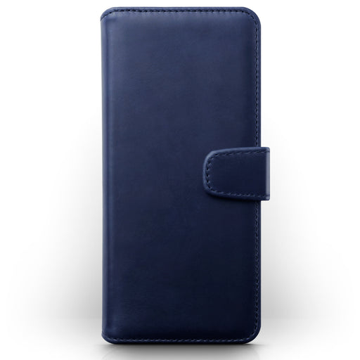 Terrapin Samsung Galaxy A71 Real Leather Wallet Case - Blue