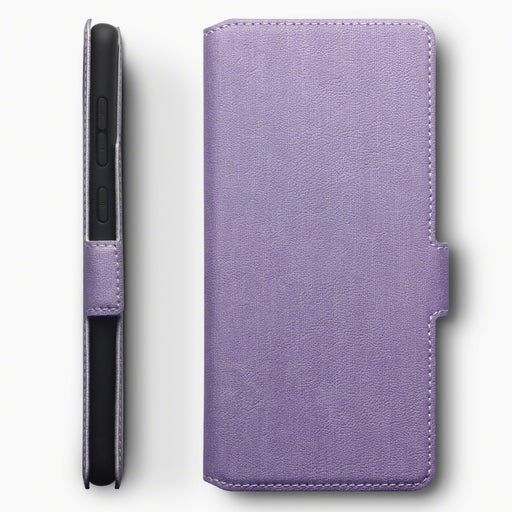 Terrapin Samsung Galaxy A71 Low Profile PU Leather Wallet Case - Purple
