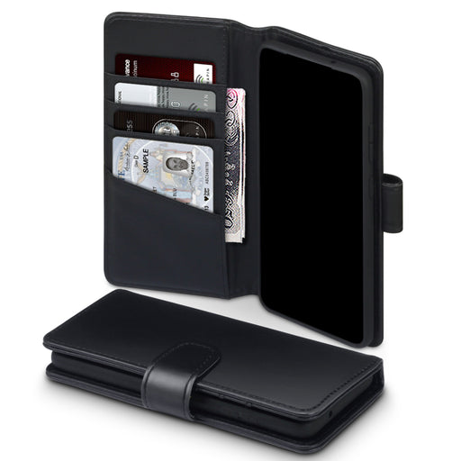 Terrapin Samsung Galaxy S20 Real Leather Wallet Case - Black