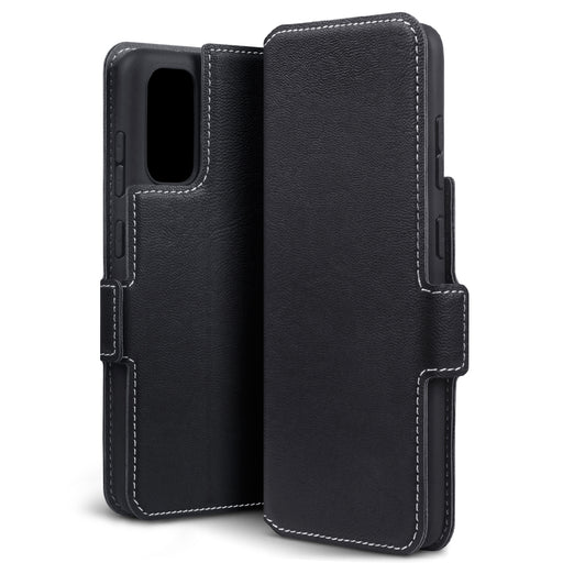 Terrapin Samsung Galaxy S11 Lite Low Profile PU Leather Wallet Case - Black