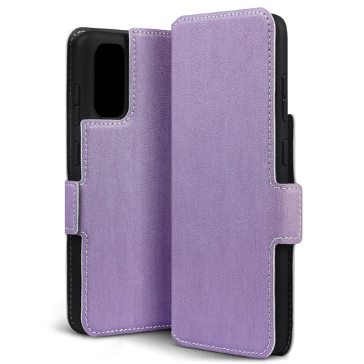 Terrapin Samsung Galaxy S11 Lite Low Profile PU Leather Wallet Case - Purple