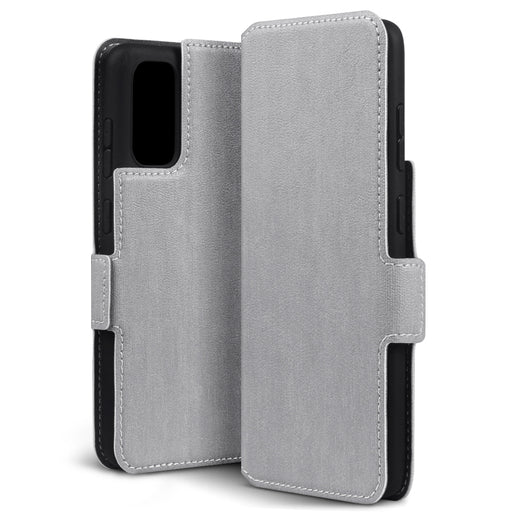 Terrapin Samsung Galaxy S11 Lite Low Profile PU Leather Wallet Case - Grey