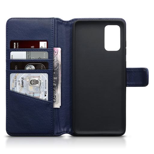 Terrapin Samsung Galaxy S11 Real Leather Wallet Case - Blue