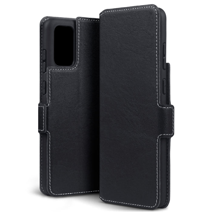 Terrapin Samsung Galaxy S20 Plus Low Profile PU Leather Wallet Case - Black