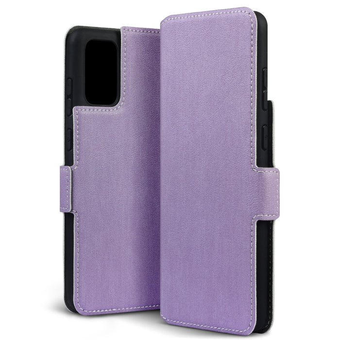 Terrapin Samsung Galaxy S20 Plus Low Profile PU Leather Wallet Case - Purple