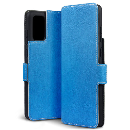 Terrapin Samsung Galaxy S20 Plus Low Profile PU Leather Wallet Case - Light Blue