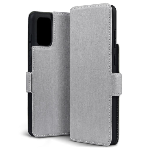 Terrapin Samsung Galaxy S20 Plus Low Profile PU Leather Wallet Case - Grey