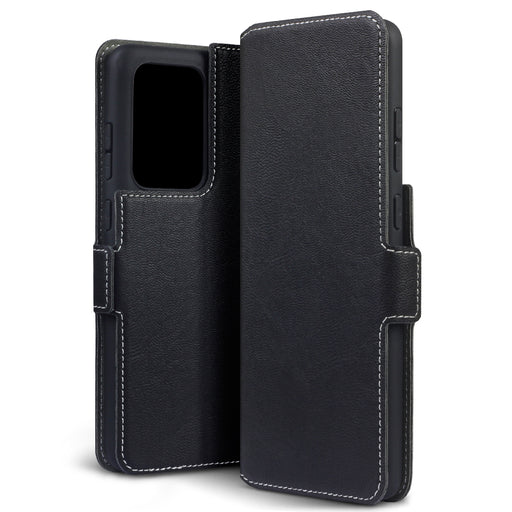 Terrapin Samsung Galaxy S20 Ultra Low Profile PU Leather Wallet Case - Black