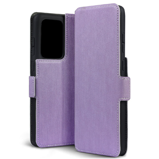 Terrapin Samsung Galaxy S20 Ultra Low Profile PU Leather Wallet Case - Purple