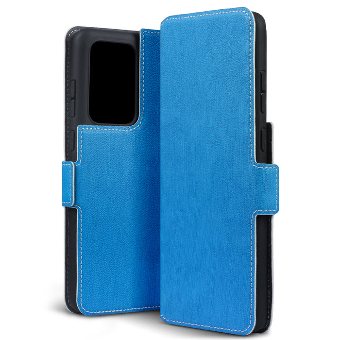 Terrapin Samsung Galaxy S20 Ultra Low Profile PU Leather Wallet Case - Light Blue