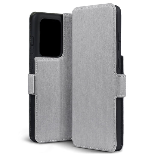 Terrapin Samsung Galaxy S20 Ultra Low Profile PU Leather Wallet Case - Grey