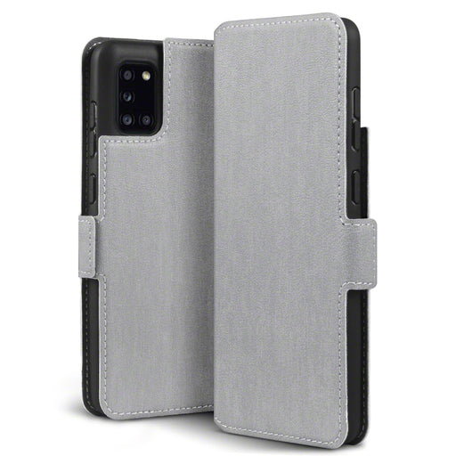 Terrapin Samsung Galaxy A31 Low Profile PU Leather Wallet Case - Grey