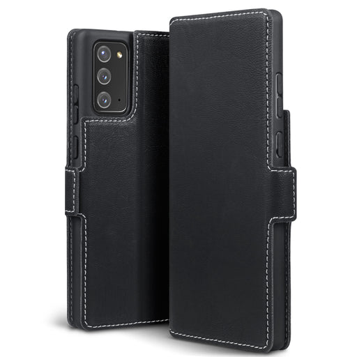 Terrapin Low Profile PU Leather Wallet Case - Black for Samsung Galaxy Note 20