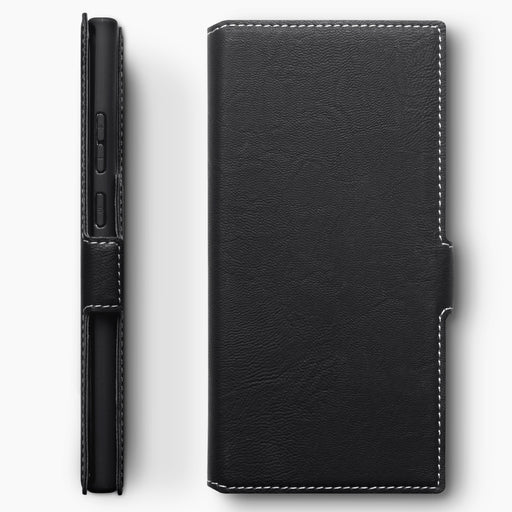 Terrapin Low Profile PU Leather Wallet Case - Black for Samsung Galaxy Note 20 Ultra