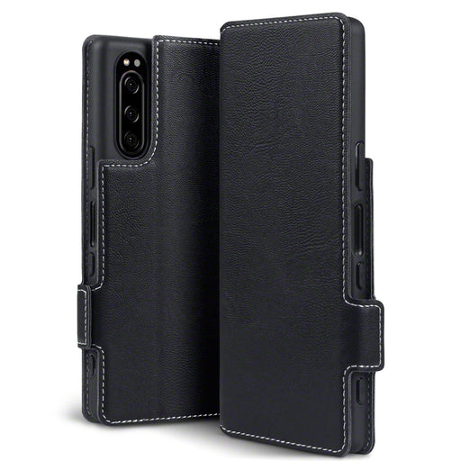 Terrapin Sony Xperia 2 Low Profile PU Leather Wallet Case - Black