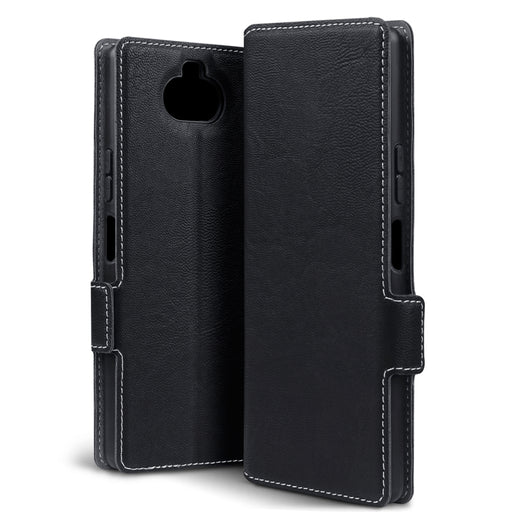 Terrapin Sony Xperia 20 Low Profile PU Leather Wallet Case - Black