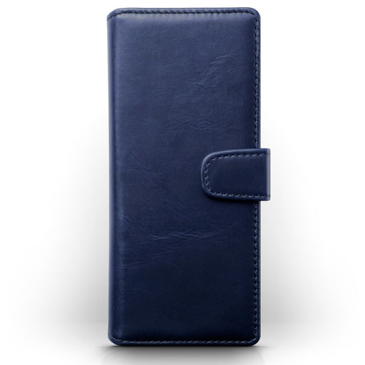 Terrapin Sony Xperia 1 Real Leather Wallet Case - Blue