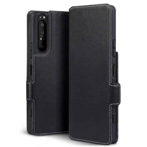 Terrapin Sony Xperia 1 II Low Profile PU Leather Wallet Case - Black