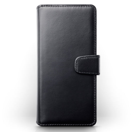 Terrapin Huawei Mate 30 Lite Real Leather Wallet Case - Black